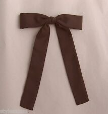 Colonel tie western bow tie square dance brown clip-on NEW cowboy wedding