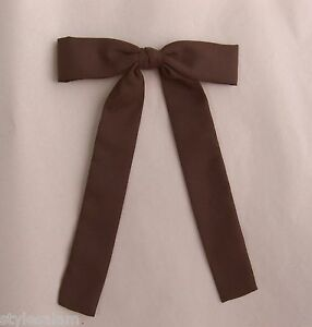 Colonel tie western bow tie square dance brown clip-on NEW cowboy wedding rodeo