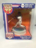 1995 Kenner Starting Lineup Stadium Stars - David Justice