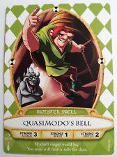 Disney SOTMK Sorcerers of The Magic Kingdom Quasimodo's Bell Monster Card #55/70