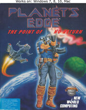 Planet's Edge The Point of no Return PC Mac Game 1991 Windows 7 8 10
