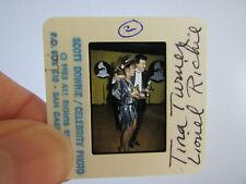 More details for original press photo slide negative - lionel richie & tina turner - 1985 - c