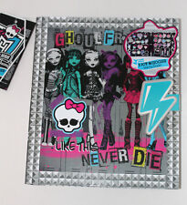 Chicas MONSTER HIGH carpeta Carpeta Grande Maquillaje Belleza Set Kit Labio Ojo Pallettes