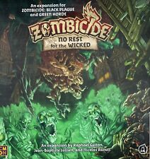 CMON Zombicide No Rest for the Wicked Expansion for Black Plague or Green Horde