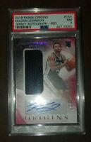 KELDON JOHNSON 2019-20 PANINI ORIGINS RED ROOKIE PATCH AUTO RPA #/99 RC (SPURS)