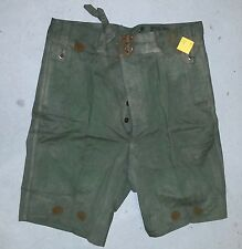 "GREEN ISSUE SHORTS - WW2 AUSTRALIAN ARMY ISSUE 38"" (97cm) USED"