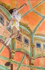 Edgar Degas, Miss La La at the Cirque Fernando, 1879, Art Poster, Canvas Print