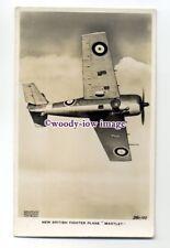 ac0053 - RAF Fighter Aircraft - Martlet - postcard