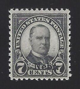 US #676 1929 Black Perf 11x10.5 Unwmk MNH VF SCV $47.50