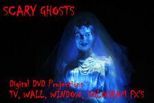 Digital fantasmas en la ventana de Halloween Decoraciones & Hologramas Proyector Fx