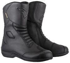 Alpinestars Web Gore-Tex Waterproof Motorcycle Motorbike Boots - Black