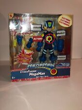 Mega Man NT Warrior Cross Fusion Figure Mattel  English Speaking BRAND NEW
