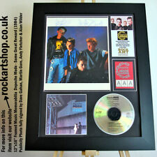 More details for depeche mode *signed dave gahan+martin+andy+alan* publicity photo autographed