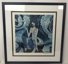 1989 hand signed Ting Shao Kuang Rhyme Of Fountain Ltd. Ed 85/500Serigraph Print