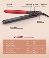 2 In 1 Hair Straightener Curler Hair Flat Iron Negative Ion Ceramic Coat