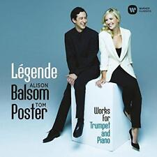 Alison Balsom And Tom Poster - Légende: Works For Trumpet And Piano (NEW CD)