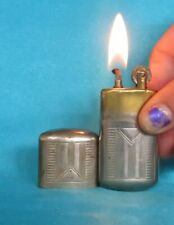 Collectable Vintage 1920's Nickle Plated Lighter. # 2