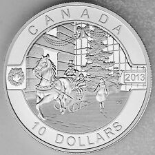 Canada 2013 Canadian Holiday Season - 1/2 oz. Fine Silver $10 Matte Proof Coin