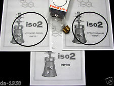 Thai Power Iso2 Manuals PLUS One 116w Iso 2 replacement Bulb & Two (2) O-Rings
