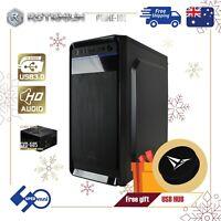 PC Desktop Case ATX Computer Tower include 250W Power Supply ROTANIUM Prime-101