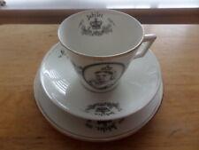 QUEEN VICTORIA GOLDEN JUBILEE 1887 CELEBRATION CUP, SAUCER & TEA PLATE - RD65169