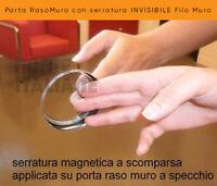 Porta RasoMuro con serratura INVISIBILE Filo Muro