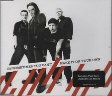 U2 Sometimes you can't make it on your own 2 TRACK CD     NEW - NOT SEALED