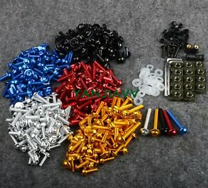 Bodywork Fairing Bolts Screws Kit For Yamaha YZF R1 R6 R125 R25 R3 MT07 MT07 FZ1