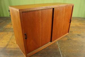 String Regal Teak 60s Sideboard Schrank Vintage Danish für Hairpin Legs 60er 3