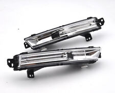 2x LED projector Daytime Day Fog Light DRL For JAGUAR F-PACE X761 2015-2018