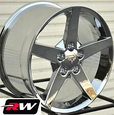 Corvette Wheels C6 2005-2008 Chrome Rims 17 / 18 inch fit Corvette C5 1997-2004