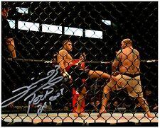 ANTONIO SILVA Signed Autographed UFC MMA 8X10 PIC. D