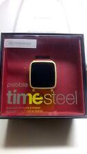 Smart Watch, pebble time steel Smartwatch