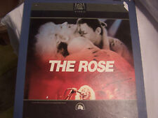 CED VIDEO DISC THE ROSE BETTE MIDLER MOVIE