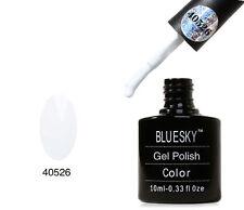Bluesky 40526 Snow White UV LED Gel Soak Off Nail Polish 10ml