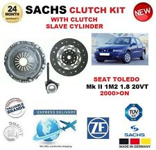 FOR SEAT TOLEDO Mk II 1M2 1.8 20VT 2000>ON SACHS CLUTCH KIT with SLAVE CYLINDER