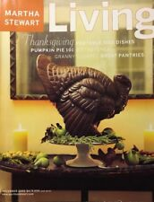 MARTHA STEWART LIVING MAGAZINE~VINTAGE~ NOVEMBER 2000~#84~TURN OF THE CENTURY~