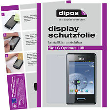 LG Optimus L3 II screen protector protection guard crystal clear
