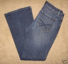 "White House Black Market Blanc Flared Boot Leg Jeans Size 6 S 29"" x 28 1/2"""