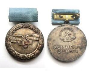 alte DDR Medaille Deutsche Reichsbahn East German railroad / railway medal GDR
