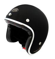 Casque casco helmet jet TORX WYATT noir gloss Taille L 59 60