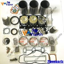 3TNE78A 3TNE78 Overhaul Rebuild Kit For Yanmar Engine Part With Valve Guide Seat