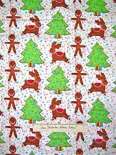 Michael Miller - Christmas Fabric Gingerbread Men Sugar Cookie Tree Sprinkles