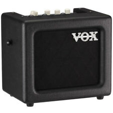 Vox MINI 3 G2 Battery Powered Guitar Combo Amp - Black  , New!