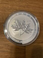 Kanada, 2018 Magnificent Maple Leaf, 10 Oz 999,9 Silbermünze
