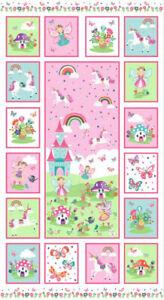 Makower Fabrics Daydream Fairy Panel 2282. Patchwork. Quilting