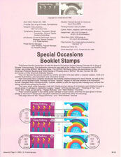 #8853 25c Special Occasions #2 #2397/98 USPS Souvenir Page