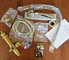 Restoration Hardware Dillon Deck-Mount Tub Handheld Shower - Polished Nickel