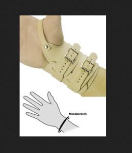Handgelenkriemen mit Daumenschlaufe Modell 424