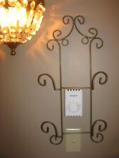 Plate Rack, Wall Mount, Display Rack, Plate Holder, 2 plate, Bronze, Very Nice